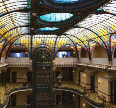Olhe para cima: os tetos que são verdadeiras obras de arte (Fonte: MSN)